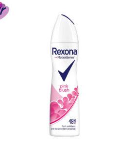 اسپری ضد تعریق زنانه رکسونا مدل pink blush حجم 200 میل