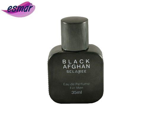 عطر جیبی مردانه اسکلاره مدل Black Afghan حجم 35 میلی لیتر