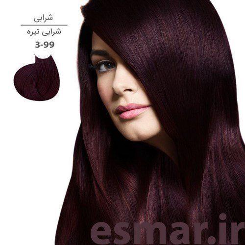 رنگ مو والانسی سری شرابی (شامل 5 رنگ )