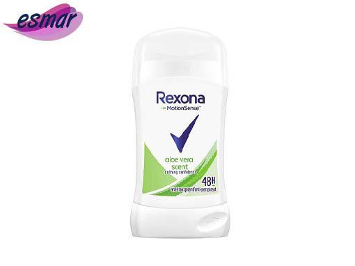 صابون زیر بغل ضد تعریق رکسونا زنانه مدل aloe vera scent