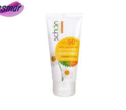 کرم ضد آفتاب رنگی فاقد چربی شون با رنگ طبیعی + SPF50