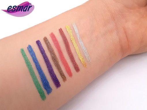 خط چشم ماژیکی رنگی شاین مک MAC (هشت رنگ )