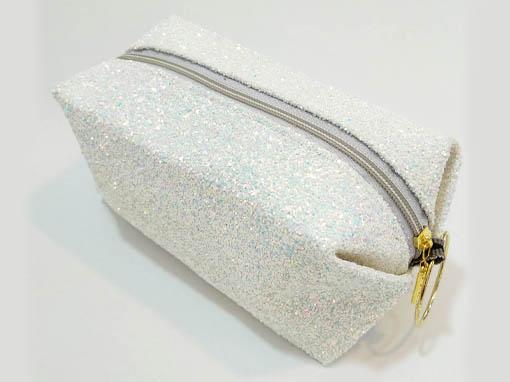 کیف لوازم آرایشی شنی مدل گلیتری M20