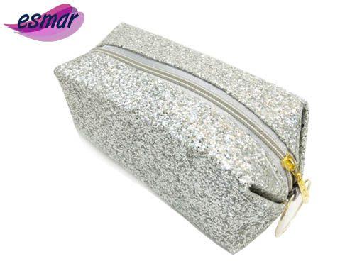 کیف لوازم آرایشی شنی مدل گلیتری M40